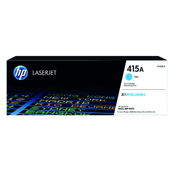 HP 415A Cyan LaserJet Toner Cartridge W2031A
