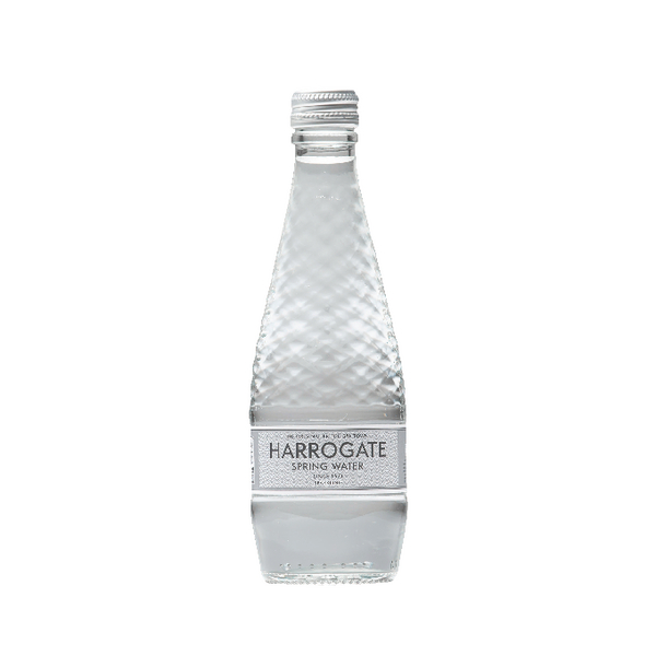 Harrogate Sparkling Spring Water Glass Bottle 330ml (Pack of 24) G330242C