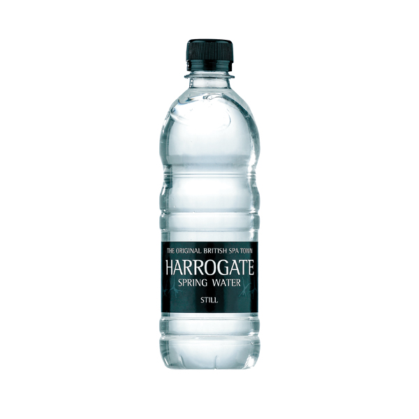 Harrogate Still Spring Water 500ml Plastic Bottle (Pack of 24) P500241S