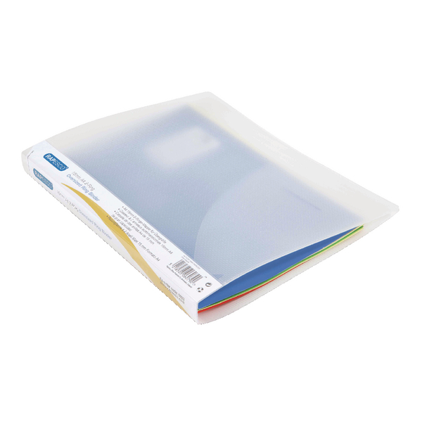 Rapesco A4 Plus 15mm 2 Ring Binder Clear (Pack of 10) 0923