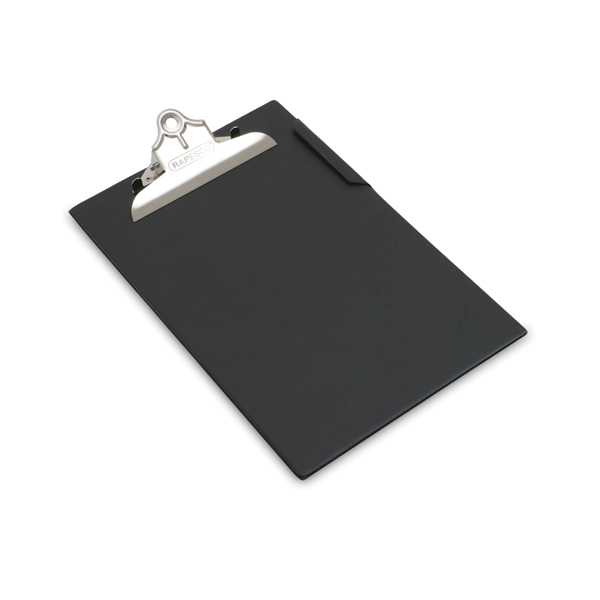 Image for Rapesco Heavy Duty Clipboard A4/Foolscap Black CD1000B2