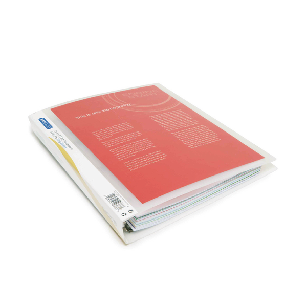 Rapesco Presentation Four-Ring Binder 25mm A4 Clear (Pack of 10) 0717
