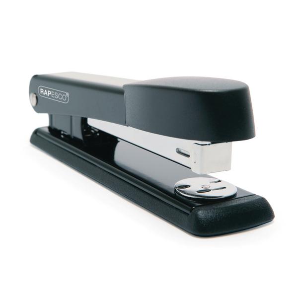 Rapesco Marlin Metal Stapler Black R54500B2