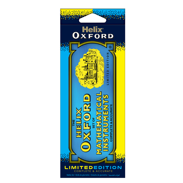 Helix Oxford Limited Edition 9-Piece Maths Set Blue (Pack of 5) 170518