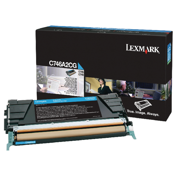 Lexmark Black Return Program Toner Cartridge T650A11E