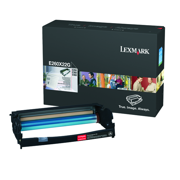 Lexmark E260 E360 E460 Photoconductor Black 0E260X22G E260X22G