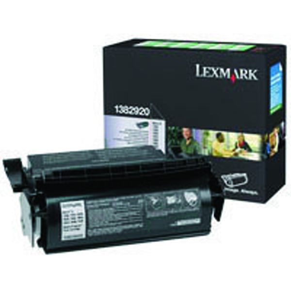 Image for Lexmark Optra S Black Return Programme Standard Laser Toner 001382920