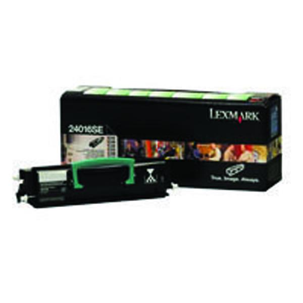 Lexmark 24016SE Black Return Program Toner Cartridge
