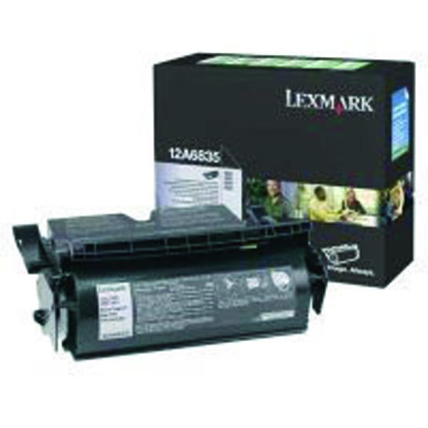 Lexmark High Capacity 12A6835 Black Return Program Toner Cartridge