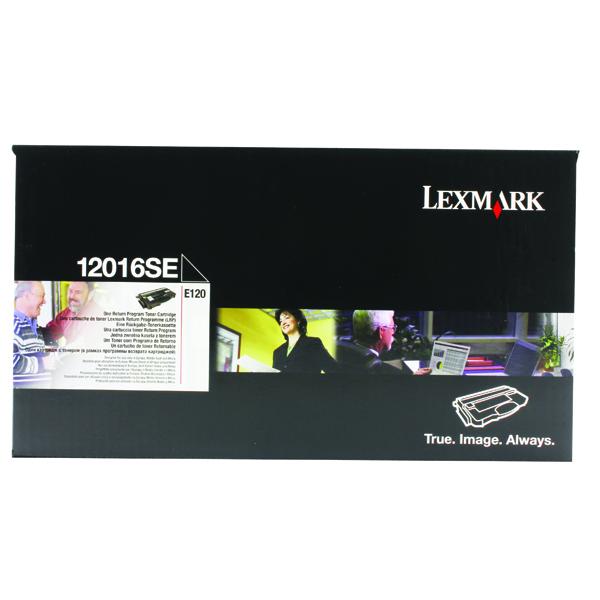 Lexmark E120 Black Return Programme Toner Cartridge 0012016SE