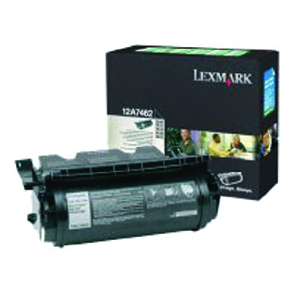 Lexmark High Capacity 12A8244 Black Toner Cartridge