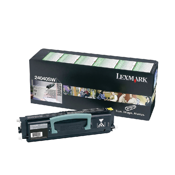 Lexmark Black Toner Cartridge 24040SW