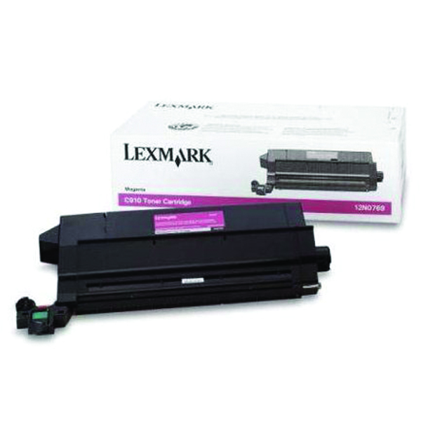 Lexmark C910/912 Magenta Toner Cartridge 14K Yield 12N0769