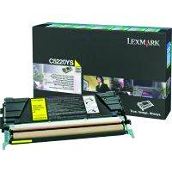 Lexmark Yellow Return Program Toner Cartridge C5220YS
