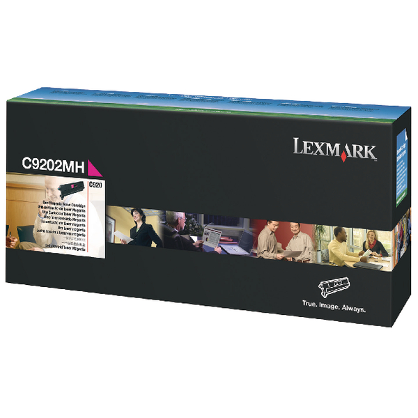 Lexmark Magenta Toner Cartridge C9202MH