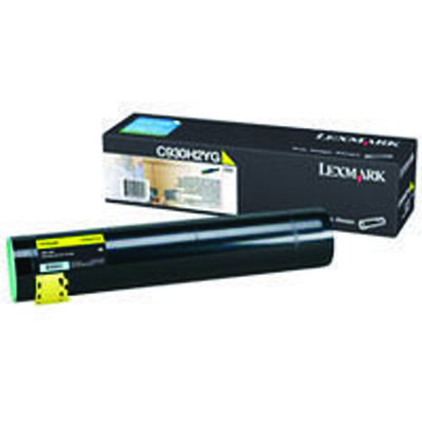 Lexmark Yellow Toner Cartridge High Capacity C930H2YG