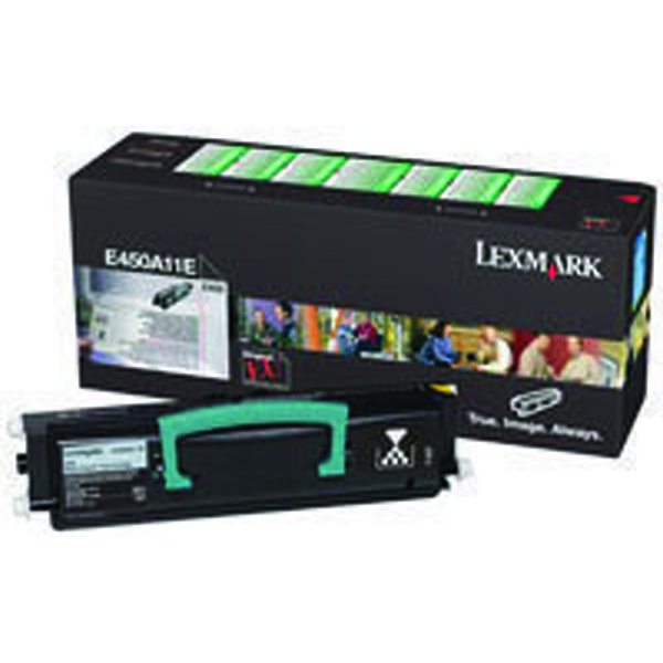 Lexmark E450A11E Black Return Program Toner Cartridge