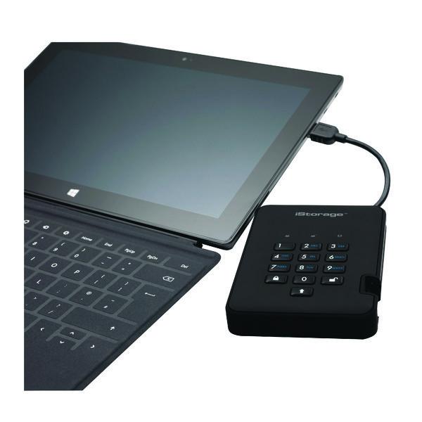 iStorage diskAshur2 HDD Black 2TB IS-DA2-256-2000-B