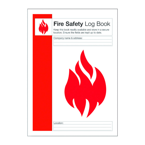 Image for Fire Safety Log Record Book (Aides compliance with fire safety standards) IVGSFLB