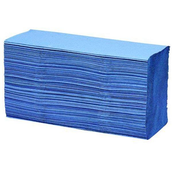 Initiative Paper Towels C-Fold Blue Pack 2688 (16 packs of 168) 90mm x 230mm