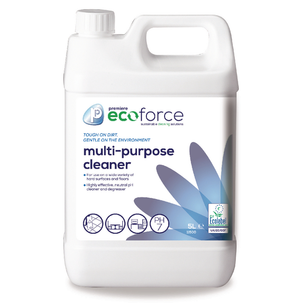 Image for Ecoforce Multipurpose Cleaner 5 Litre (Pack of 2) 11500