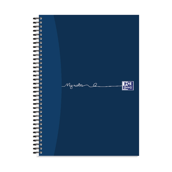 Oxford My Notes Card Cover Wirebound Notebook 100 Pages A4 (Pack of 5) 400020193