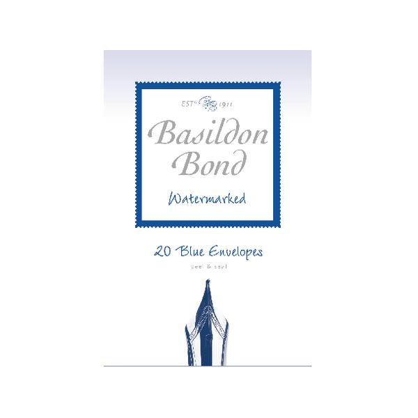Basildon Bond Blue Envelope 95 x 143mm (Pack of 200) 100080064