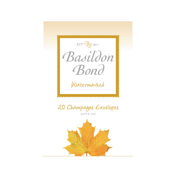 Basildon Bond Champagne Envelope 95 x 143mm (Pack of 200) 100080069