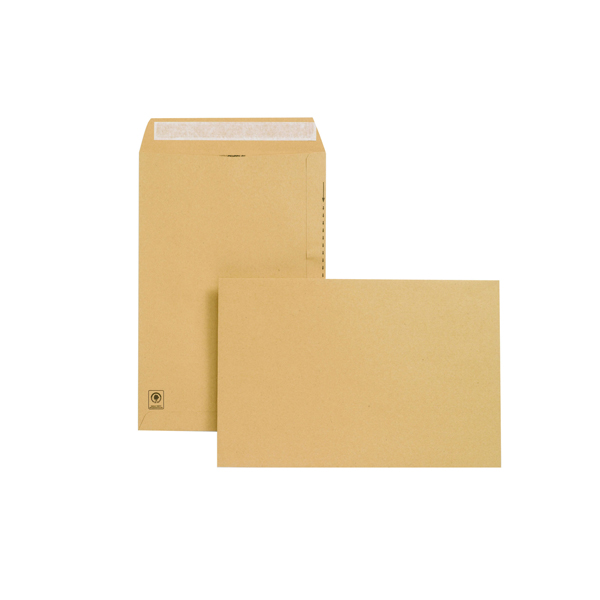 Image for New Guardian 381x254mm 130gsm Manilla Peel and Seal Envelope (Pack of 125) E23513