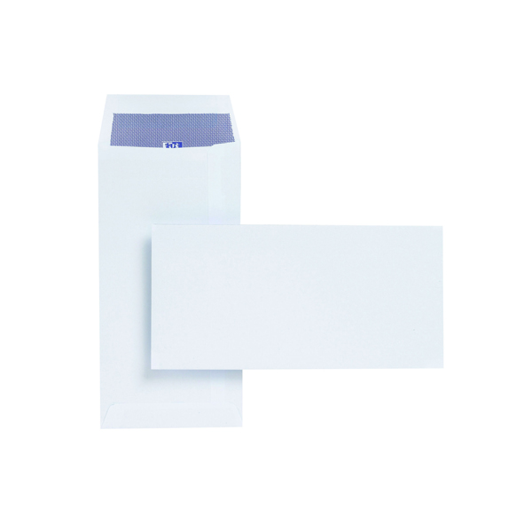 Plus Fabric DL Envelopes Pocket 110gsm Self Seal White (Pack of 500) E25770