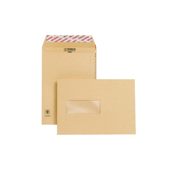 New Guardian C5 Envelope Window Peel/Seal Manilla (Pack of 250) F26639