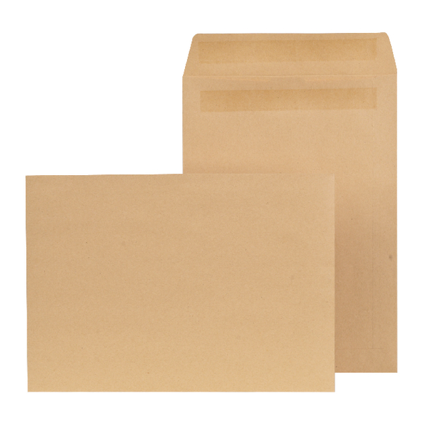 New Guardian C4 Envelope Pocket Self Seal Manilla (Pack of 250) K26309