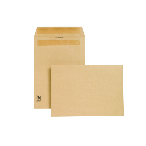 New Guardian C4 Envelope Self Seal 130gsm Manilla (Pack of 250) L26303