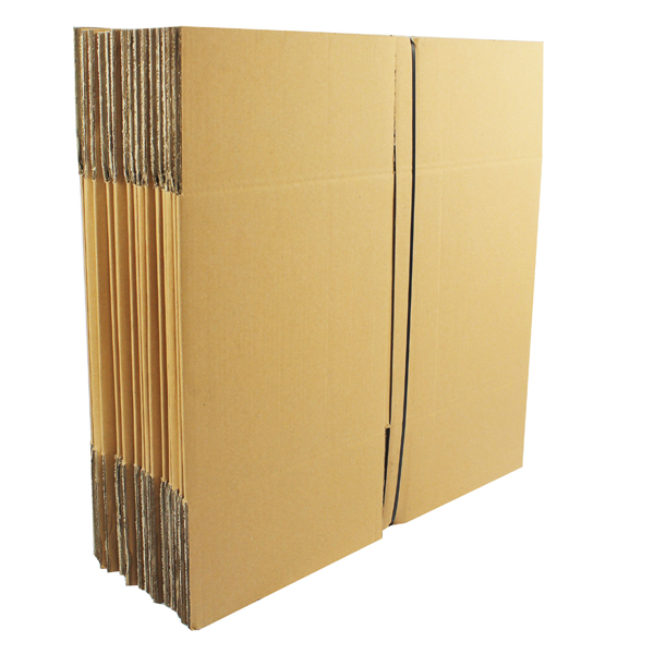 Double Wall 305x305x305mm Brown Corrugated Dispatch Cartons (Pack of 15) SC-12
