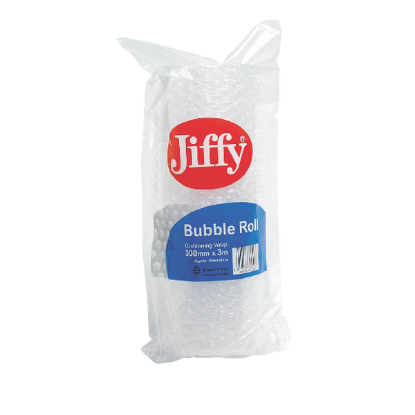 Jiffy Bubble Film Roll 300mmx3m Clear (Pack of 20) BROC37770