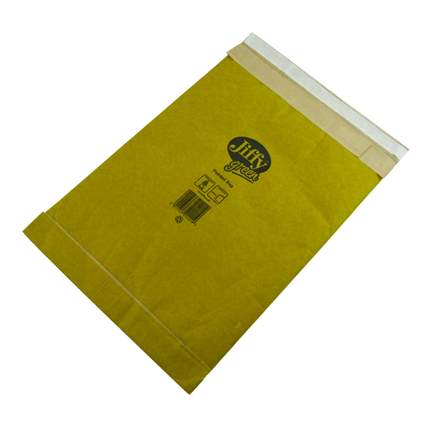 Jiffy Padded Bag Size 3 195x343mm Gold PB-3 (Pack of 10) 1217