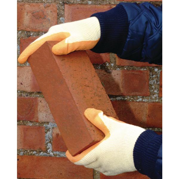Polyco Matrix S Grip Gloves Size 9 Orange 503-MAT