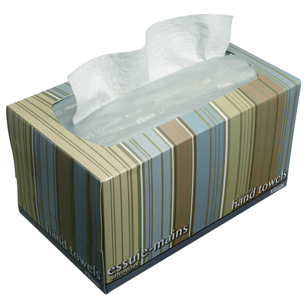 Kleenex Ultra Soft Pop-Up 1-Ply Hand Towel Box 70 Sheets (Pack of 18) 11268