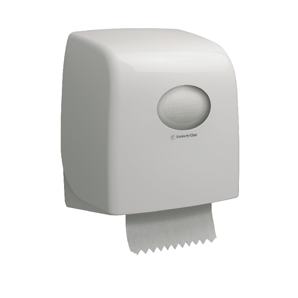 Aquarius White SlimrRoll Hand Towel Dispenser 6953