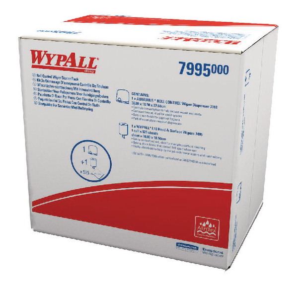 Wypall Roll Wiper Starter Pack 7995