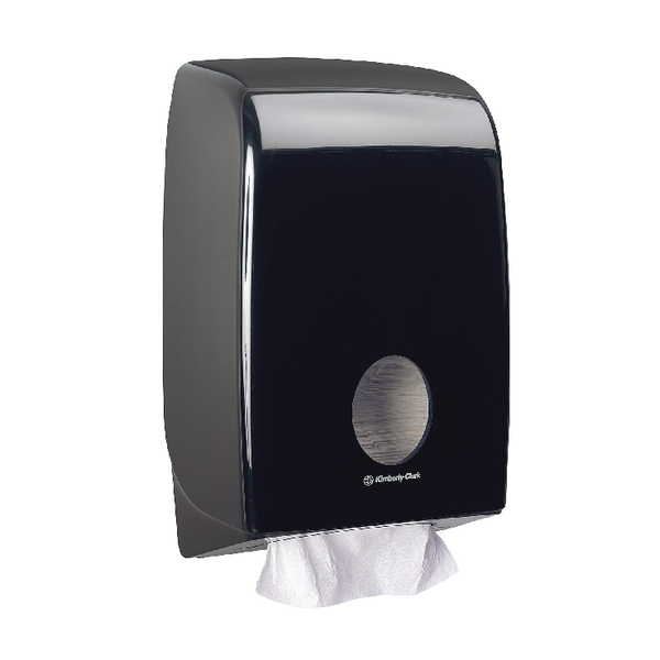 Aquarius Hand Towel Dispenser Black 7171