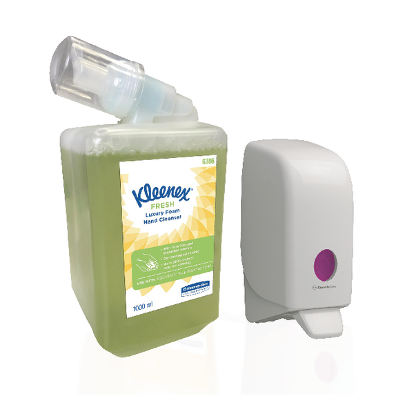 Kleenex Fresh Hand Wash + FOC Aquarius Dispenser