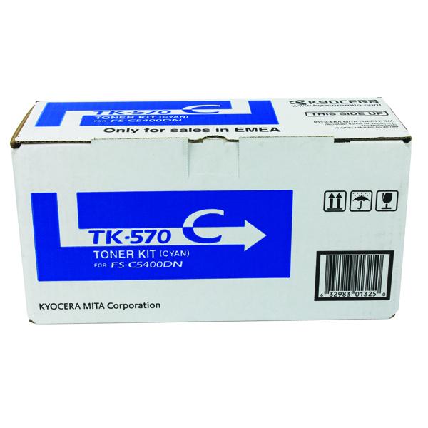 Kyocera Cyan TK-570C Toner Cartridge