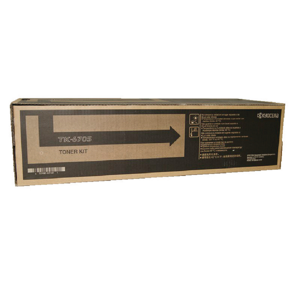 Kyocera TK-6705 Black Toner Cartridge