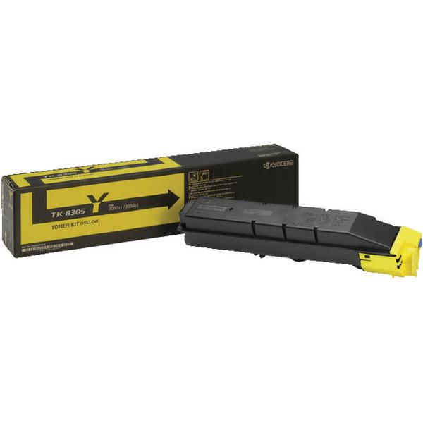 Kyocera Yellow TK-8305Y Toner Cartridge