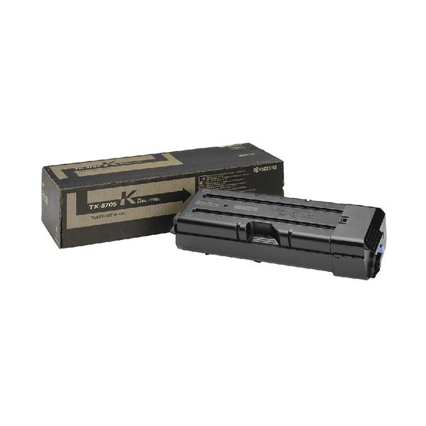 Kyocera 6550ci 7550ci Toner Cartridge Black TK-8705K