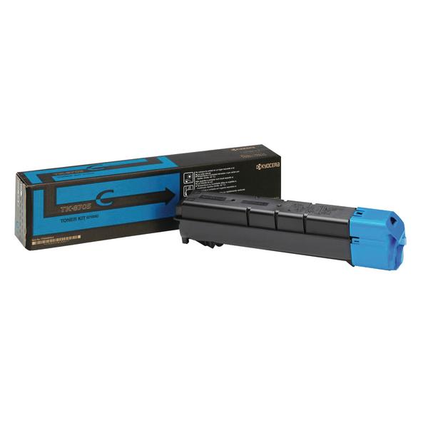 Kyocera 6550ci 7550ci Toner Cartridge Cyan TK-8705C