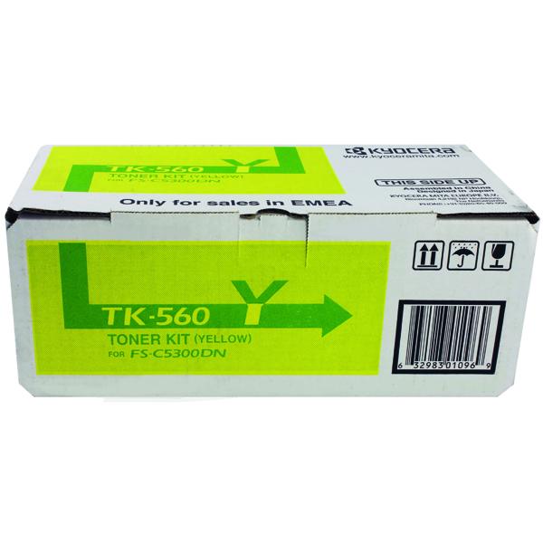 Kyocera TK-560Y Yellow Toner Cartridge 1T02HNAEU0