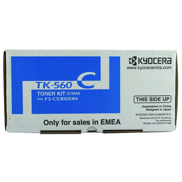 Kyocera TK-560C Cyan Toner Cartridge 1T02HNCEU0
