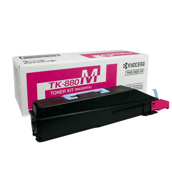 Kyocera TK-880M Magenta Toner Cartridge